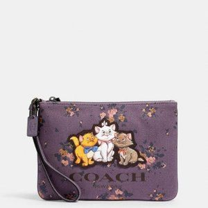 Disney X Coach Rose Bouquet Print And Aristocats